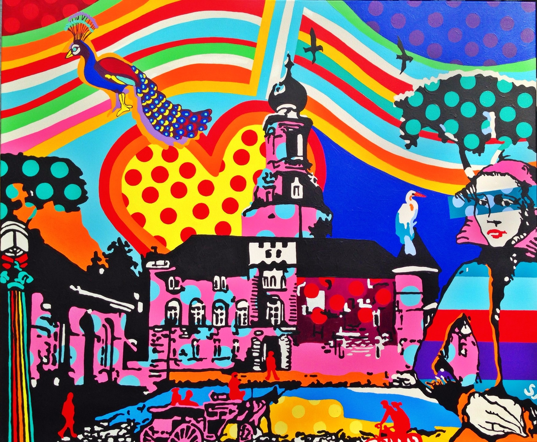 Bavarian Pop Art by Sylke Janßen