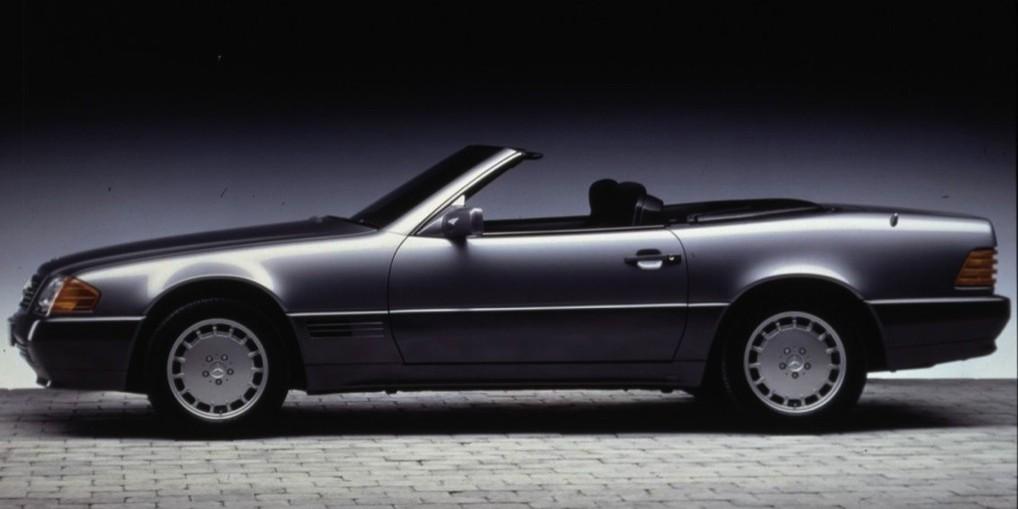Bald ein Oldtimer: Mercedes MB SL R 129