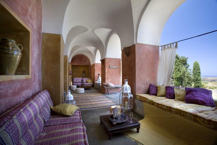 Sehr stilvoll: das Zubebi Resort im tiefsten Italien