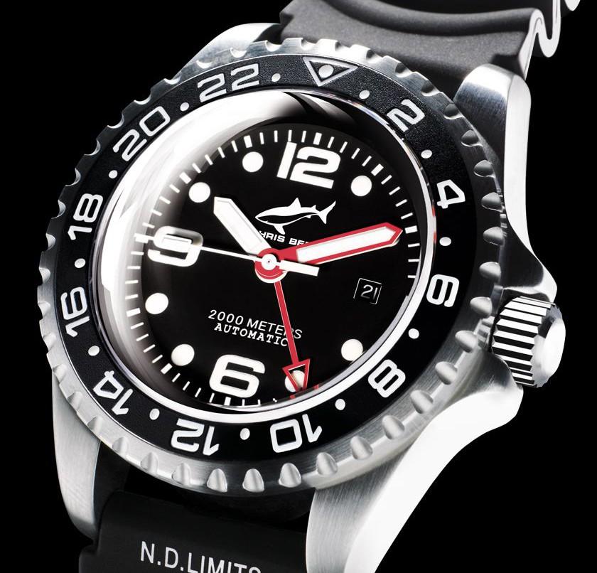Chris-Benz Deep-2000 M-AUTOMATIC GMT