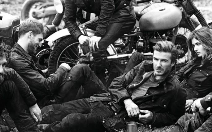 Beckham in Belstaff