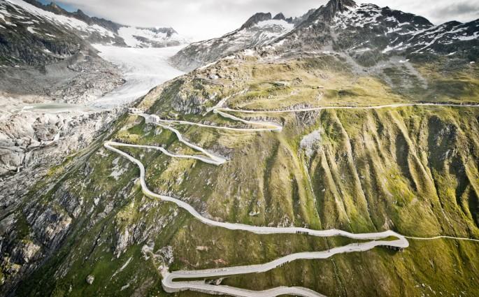 Schweizer Gebirgspass