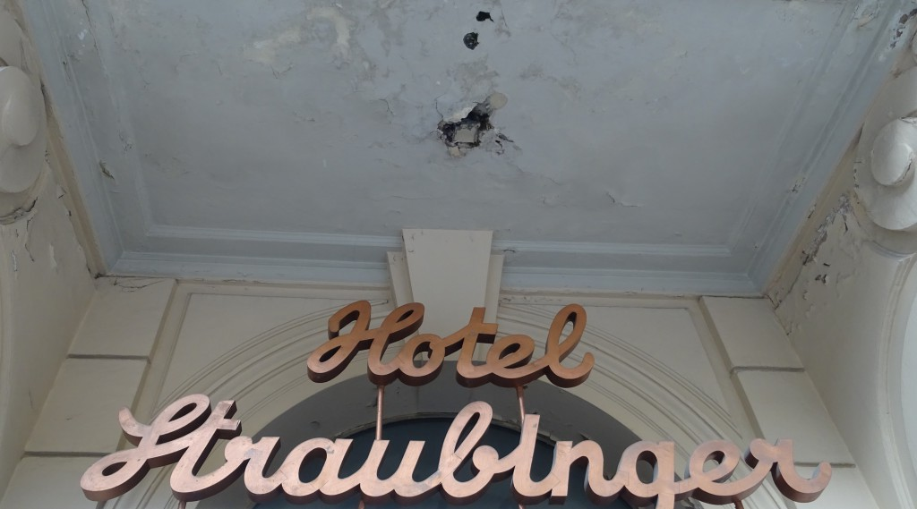 Bad Gastein; Das früher Hotel-Straubinger