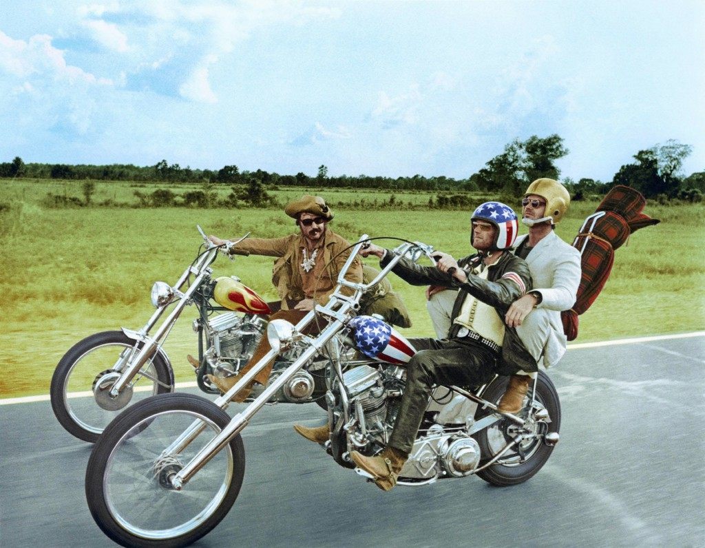 "Am Set von ""Easy Rider"""