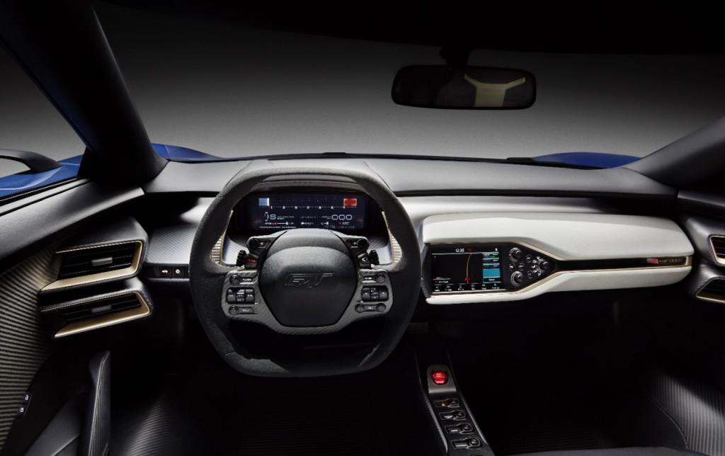 Ford GT Innenraum