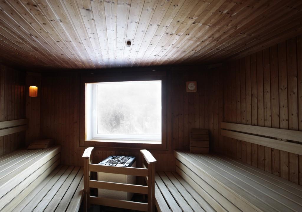 Panorama-Sauna im Hotel Miramonte