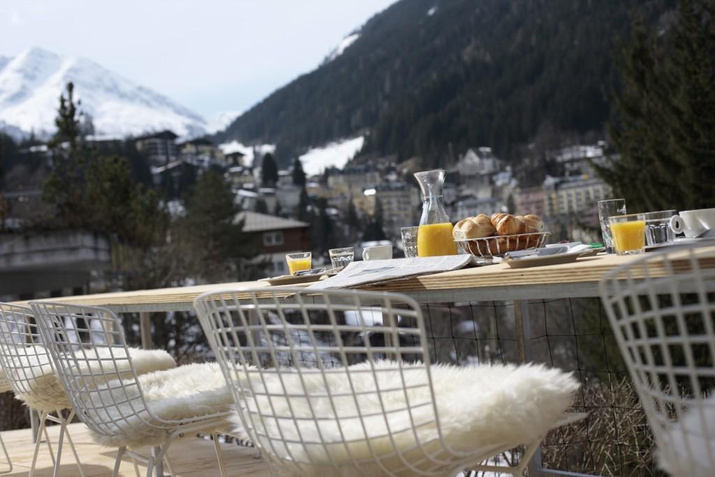Terrasse vom Hotel Miramonte