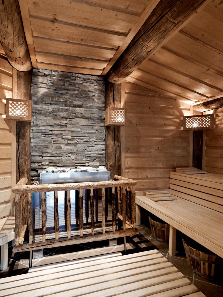 Tiroler Sauna im A-Rosa