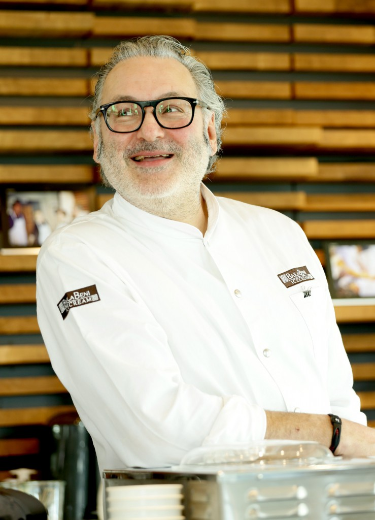 Giorgio Ballabeni, der beste Eismacher Münchens