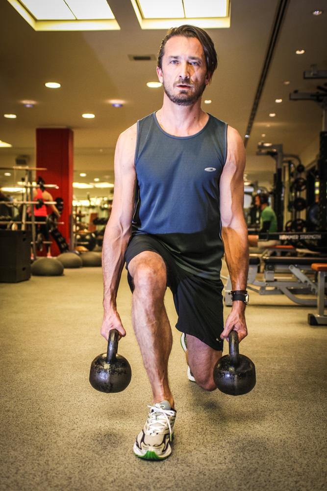 Training für Beine und Po!