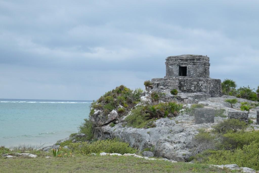 Die berühmten Maya-Tempel in Tulum