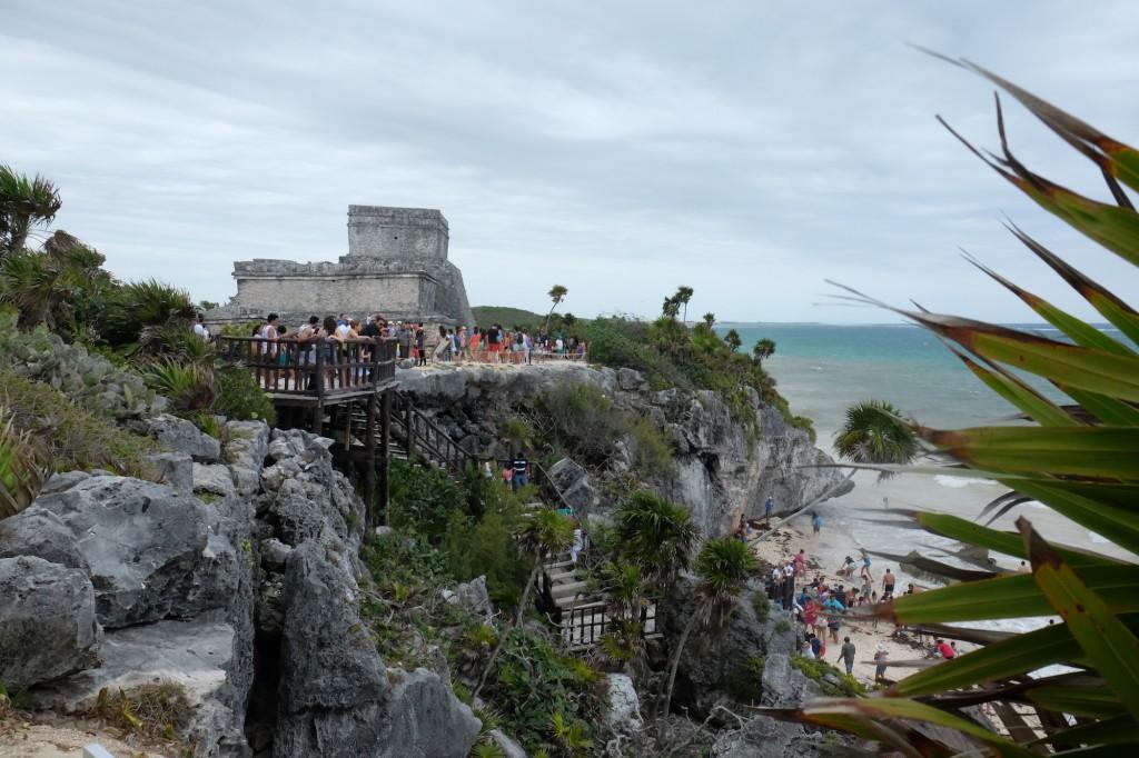 Die Maya-Tempel in Tulum