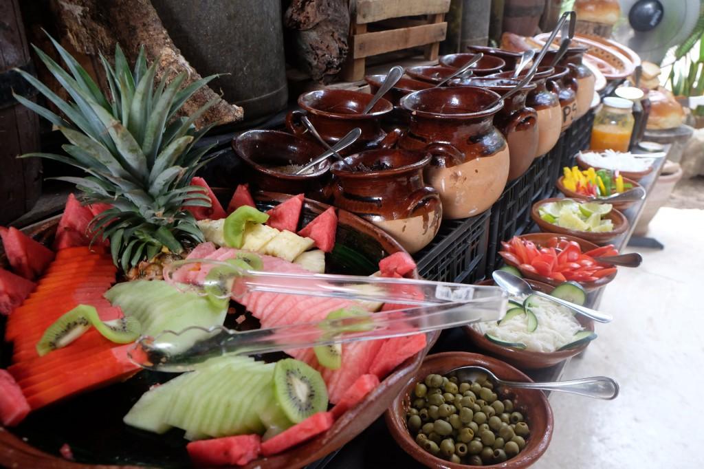 Frühstücksbuffet auf Mexikanisch