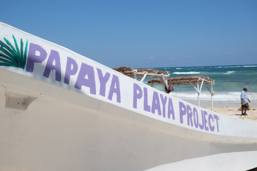 Strand-Impression am Papaya Playa