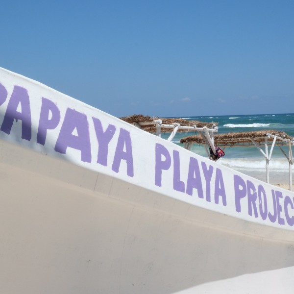 Strand-Impression am Papaya Playa