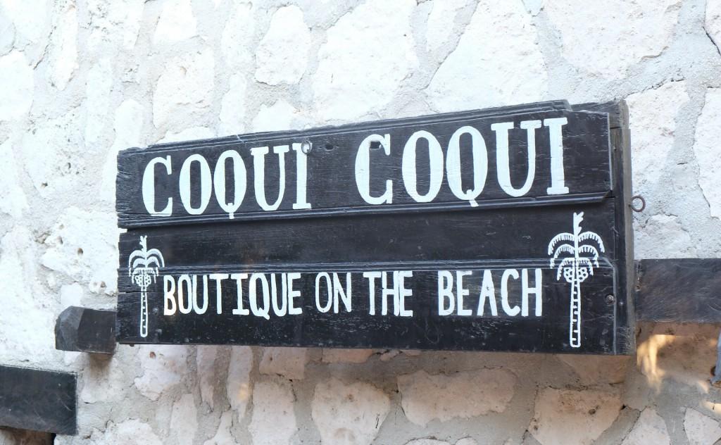 Shoppingtipp: die Boutique vom Coqui Coqui-Hotel