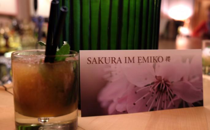 Sakura im Restaurant Emiko