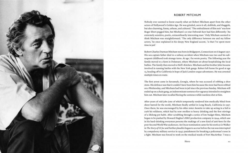 Schausspiellegende Robert Mitchum