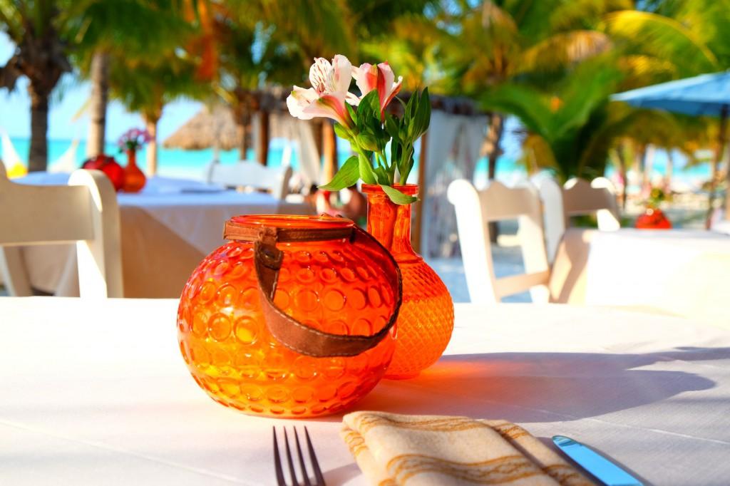 Blick aufs Meer: Das Restaurant von Casa Las Tortugas
