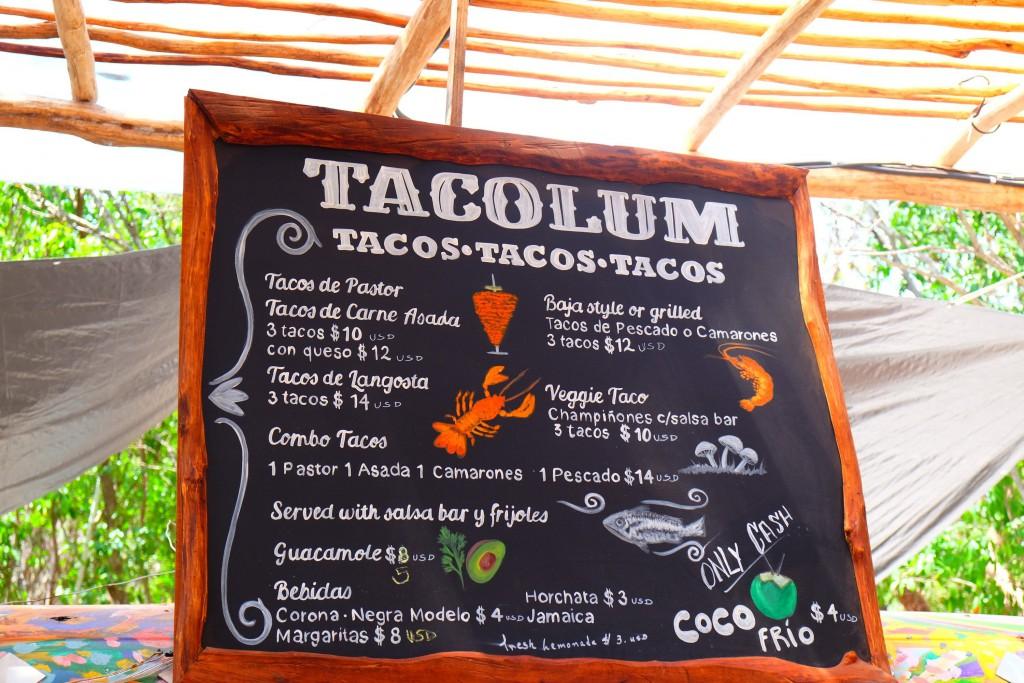 Leckere Tacos bei Tacolum