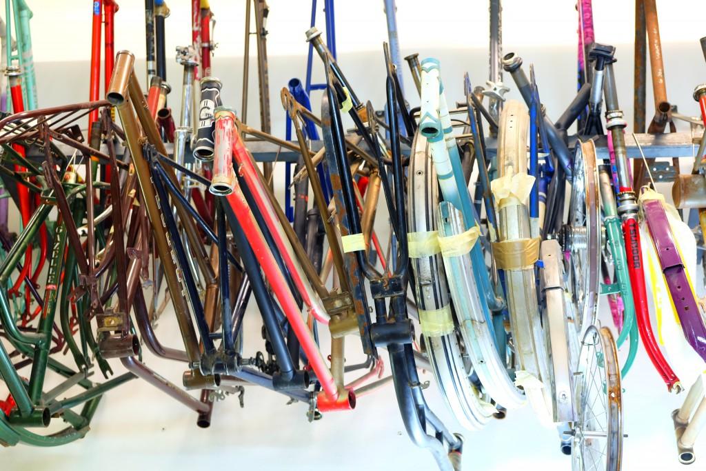 Alte Rahmen für neu gestaltete Räder