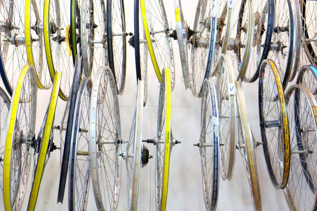 Ja, Fahrräder sind Kunst - zumindest im Fall von Samstag Rad