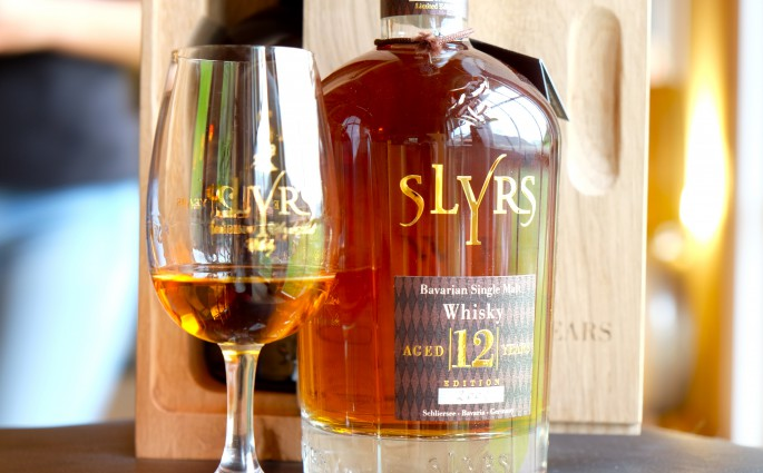Der 12jährige Slyrs Single Malt Whiskey
