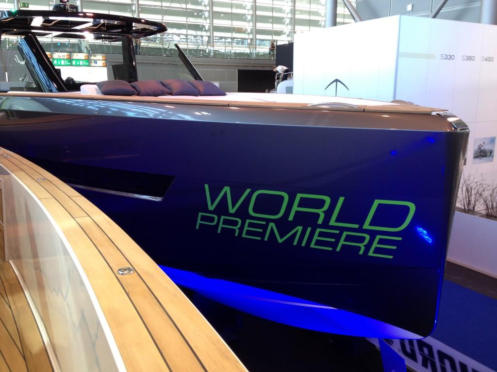 Weltpremiere auf der Boot in Düsseldorf 2015