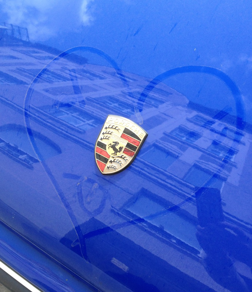 Ein Herz für Porsche
