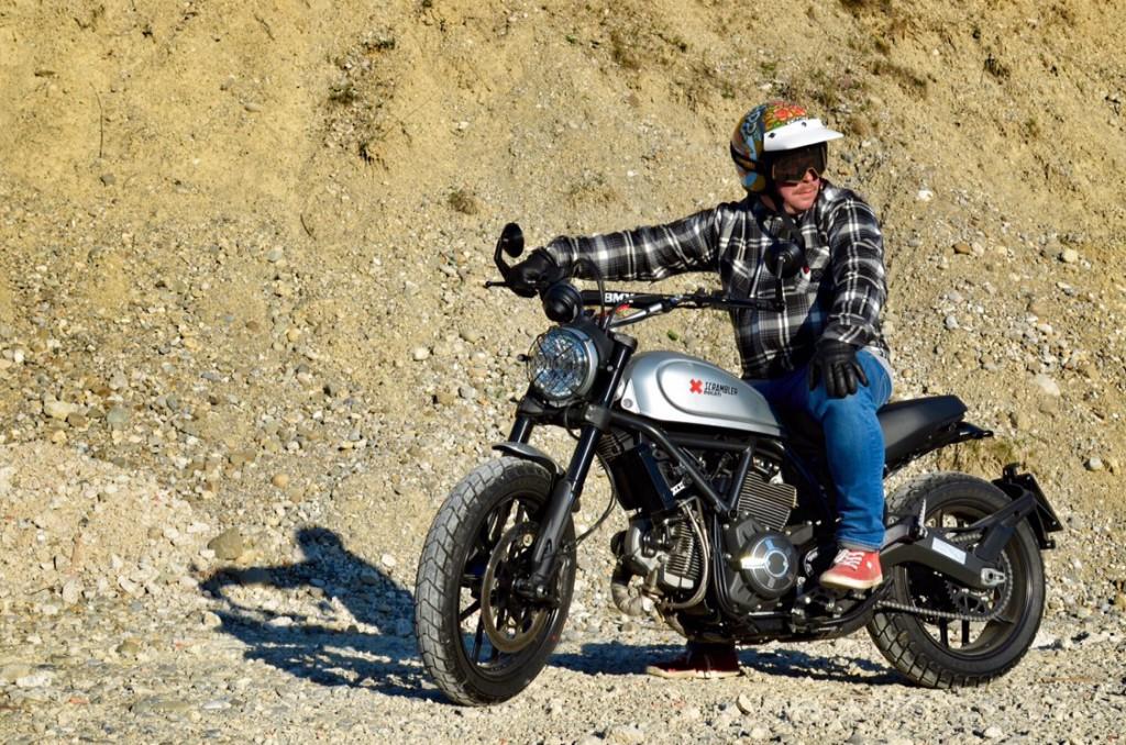 Toll gemacht: Die Ducati von Heiko