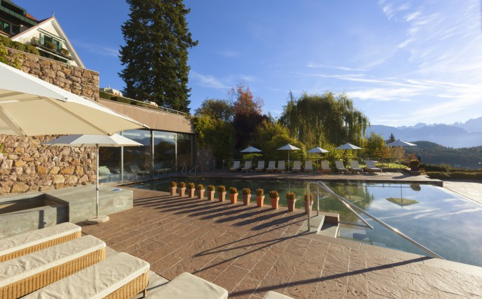 Südtiroler Idylle: Parkhotel Holzner