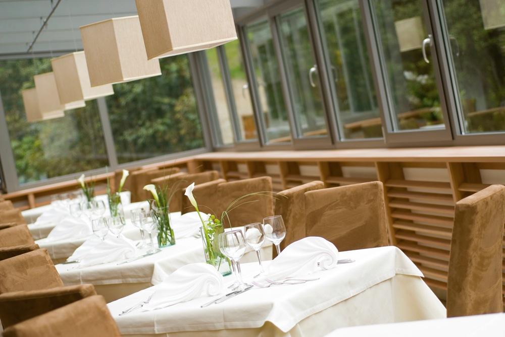 Ein Ort des guten Geschmacks: das Restaurant im Hotel Rainer