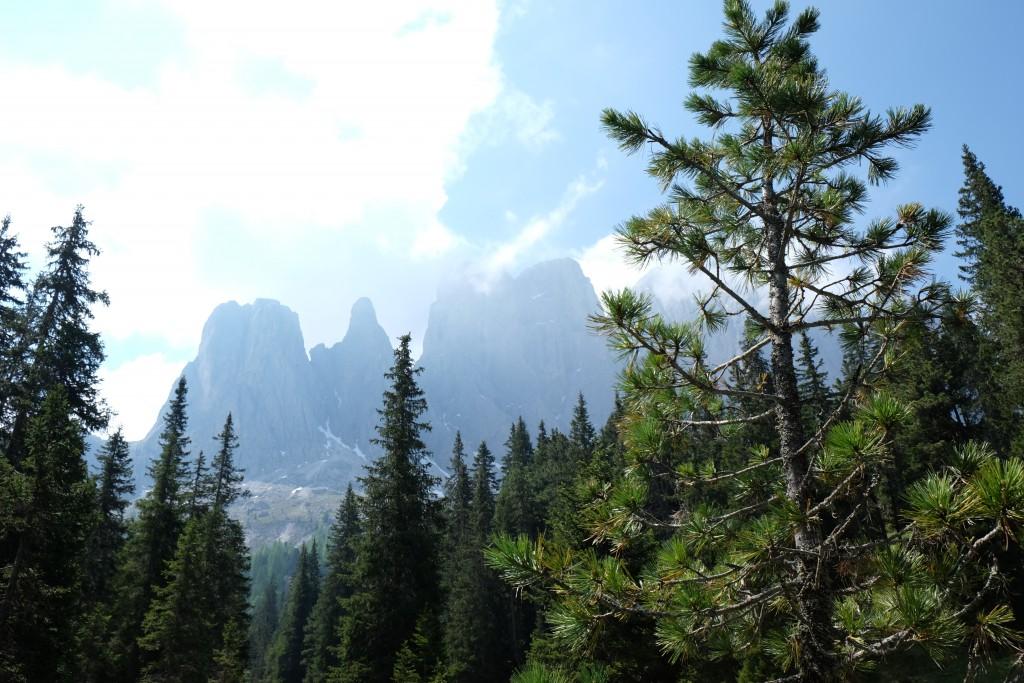 Eindrucksvolle Bergwelt