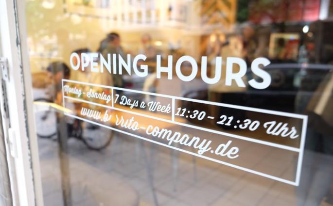 Die Burrito Company in der Augustenstraße