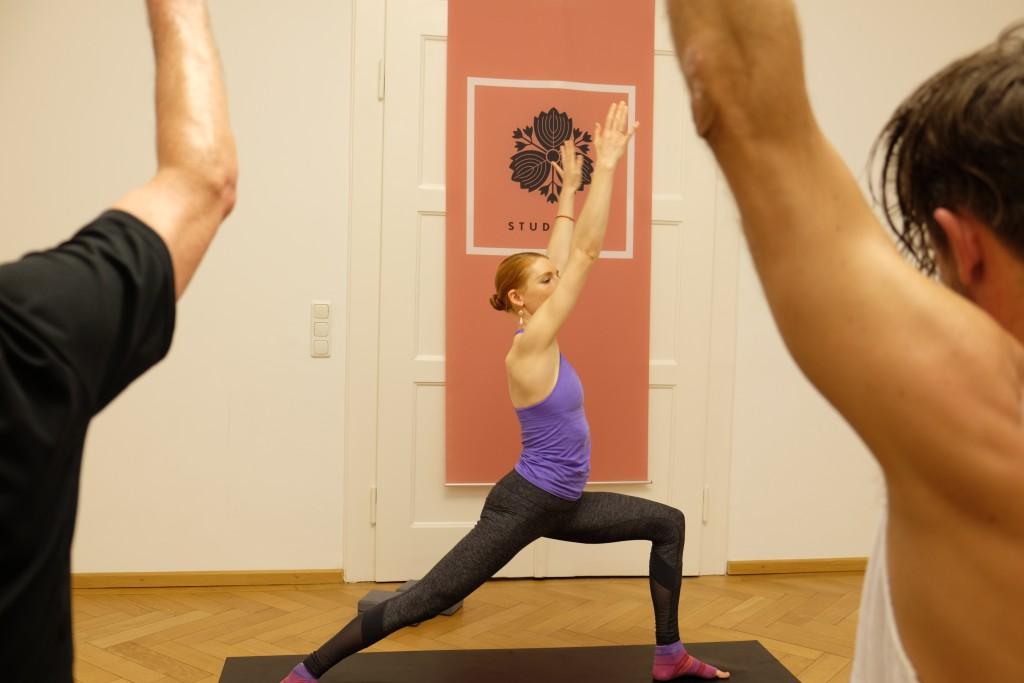 Yoga-Lehrerin Susanne