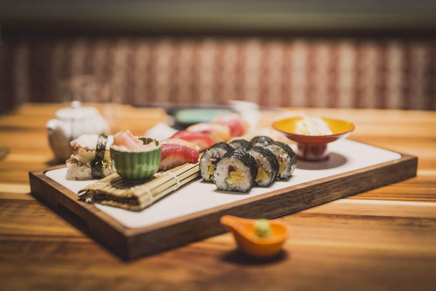 Leckeres Sushi vom Feinsten