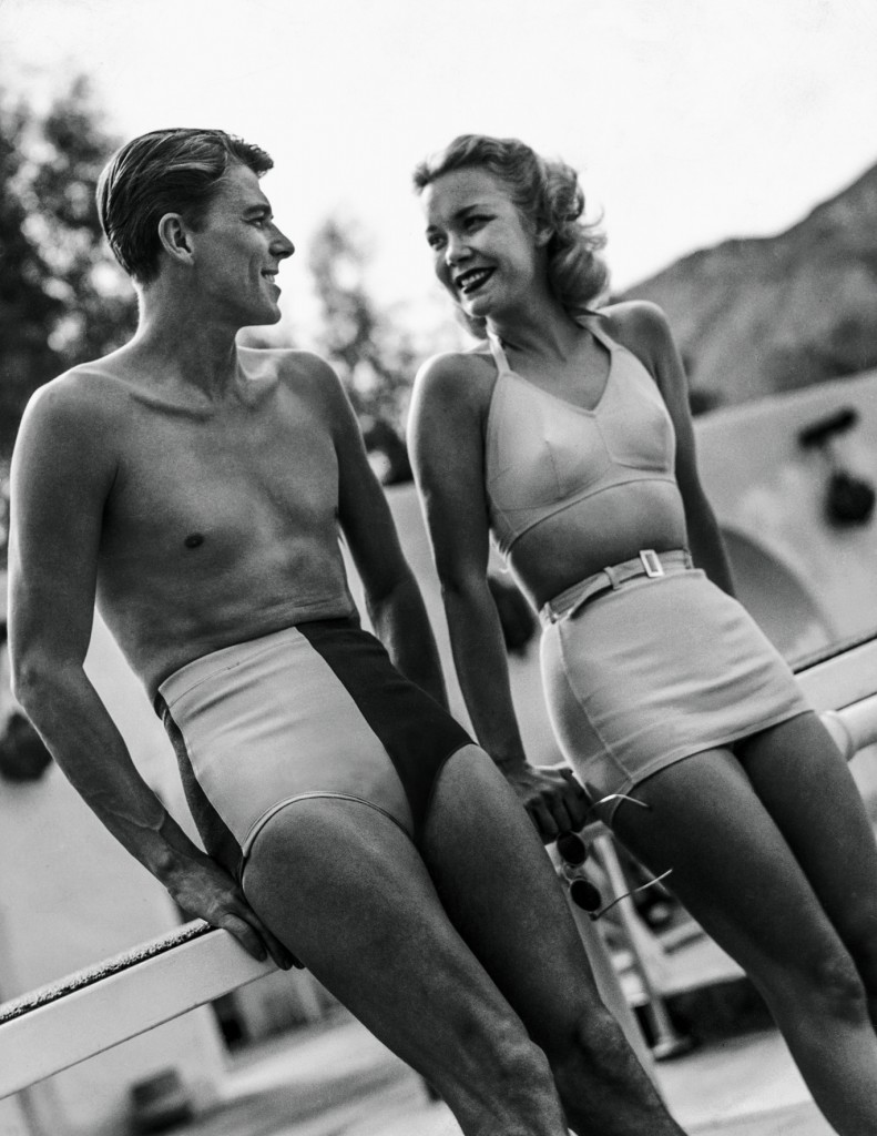 Ronald Reagan und seine Frau Jane in Palm Springs © Condé Nast Archive/Corbis