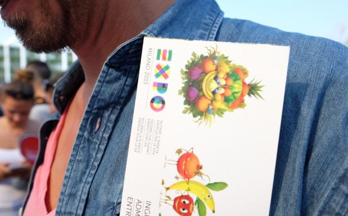 Bru auf der Expo in Mailand