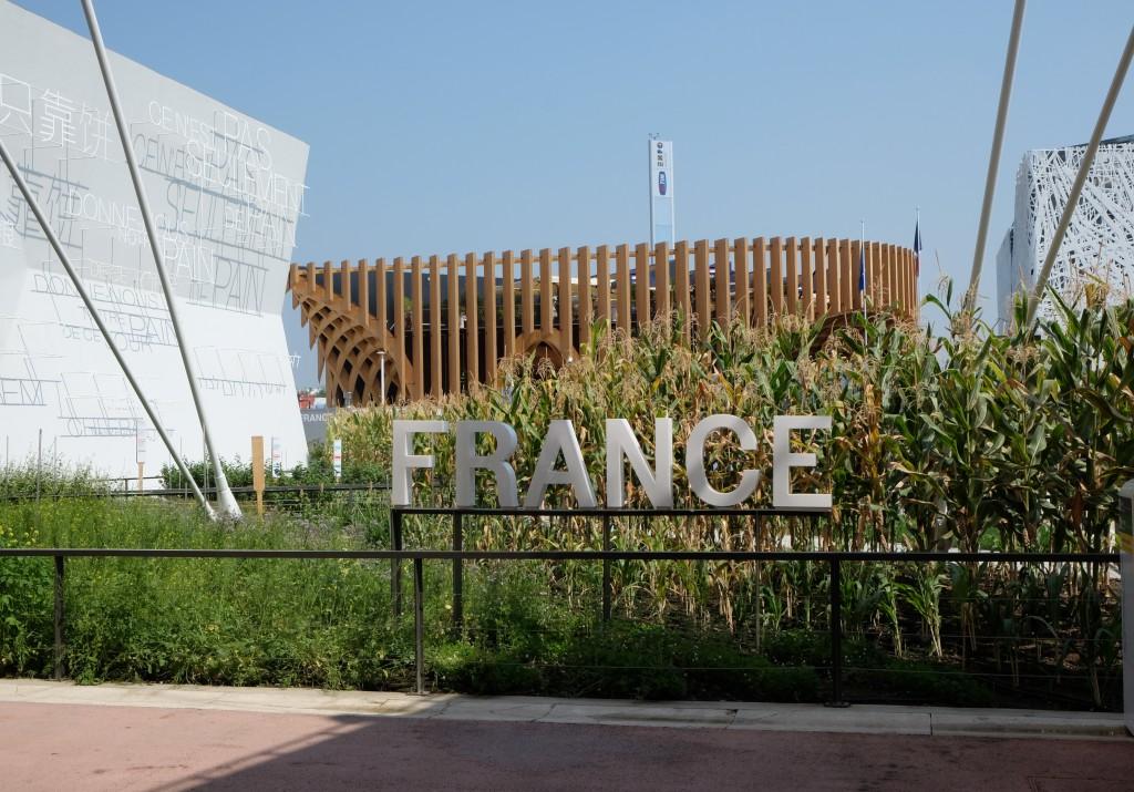 Der franzsöische Pavillon