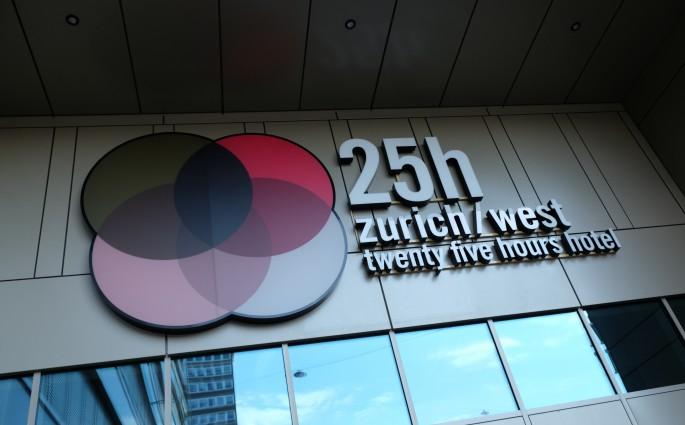 Das 25hours Hotel Zürich West liegt