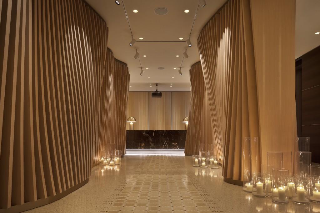 Spektakulärer Eingangsbereich