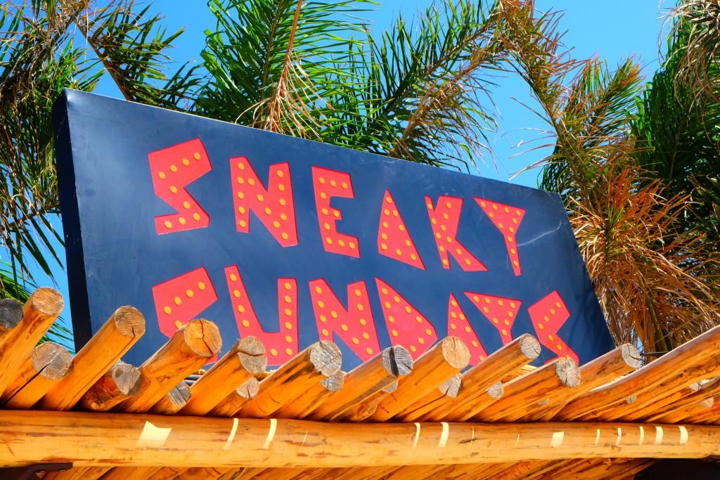Sneaky Sunday im Scorpios Beach Club Mykonos