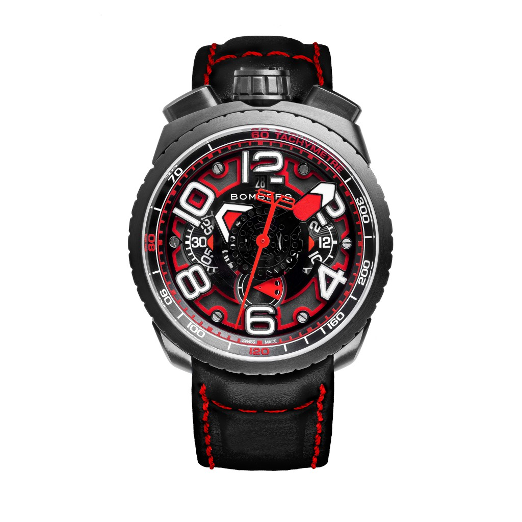 Auch cool: Uhr mit Rot-Schwarz
