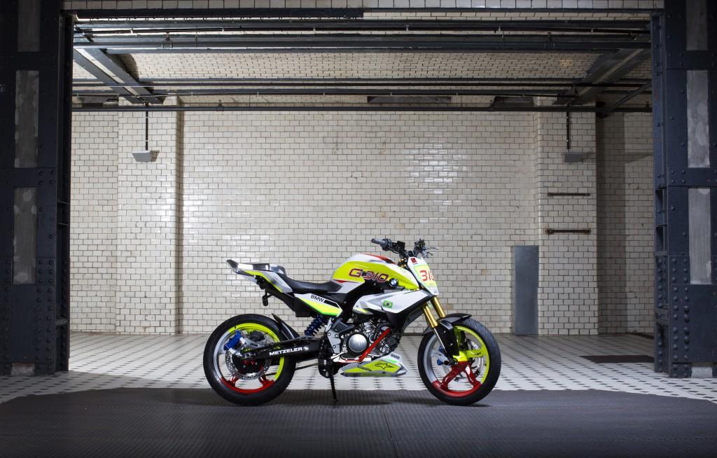 Mega cooles Teil - die BMW Concept Stunt G 310