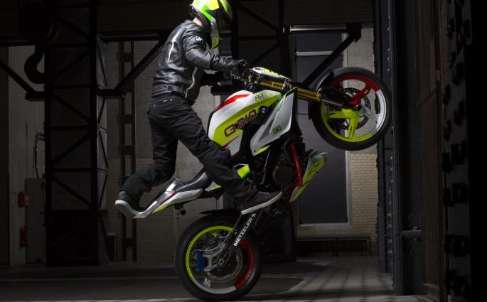 Geniales Stuntbike
