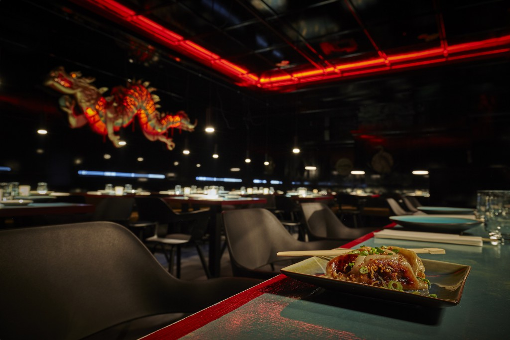 "Restaurant ""Hutong Club""in Schwabing"