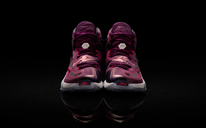 Lila Power: der Nike LeBron 13