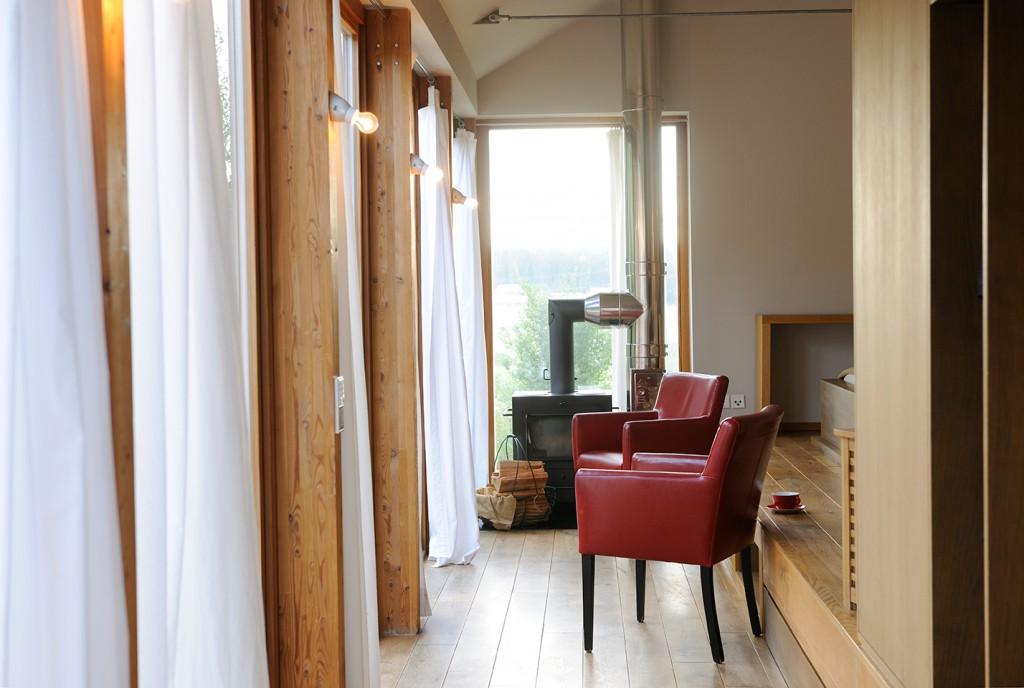 Interior vom Gartenhaus