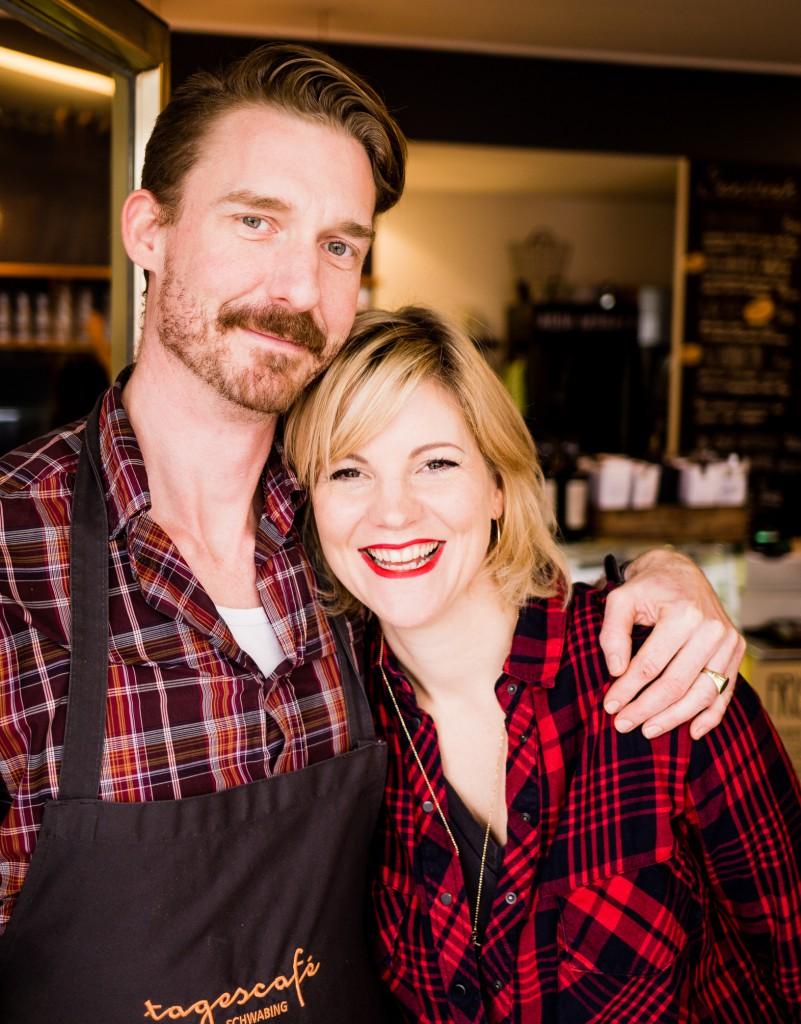 Daniela und Patrick , die Betreiber vom Tagescafé