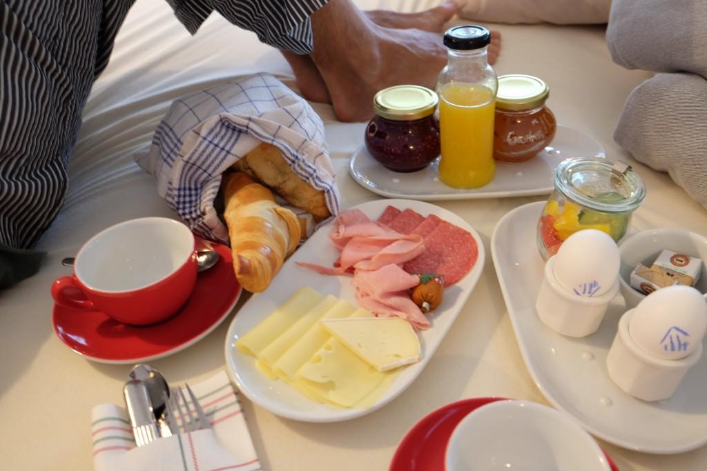 Frühstück im Bett - love it!